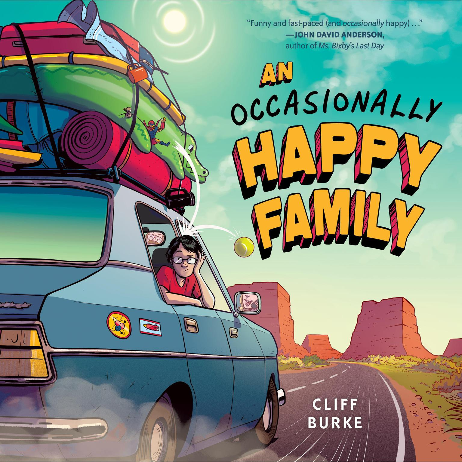 An Occasionally Happy Family Audiobook, by Cliff Burke