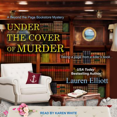 Under the Cover of Murder Audiobook, by Lauren Elliott