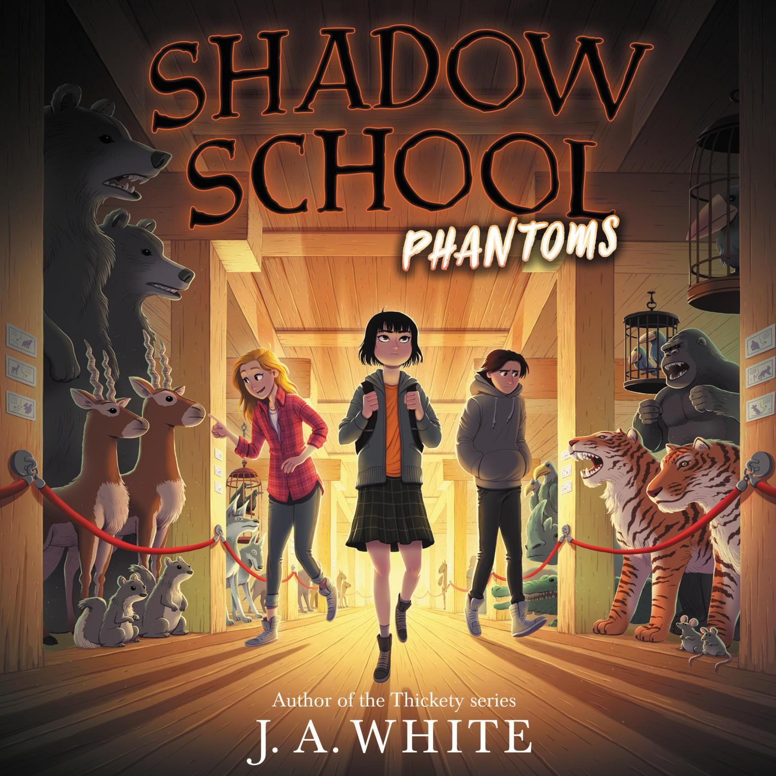 Shadow School #3: Phantoms Audiobook, by J. A. White