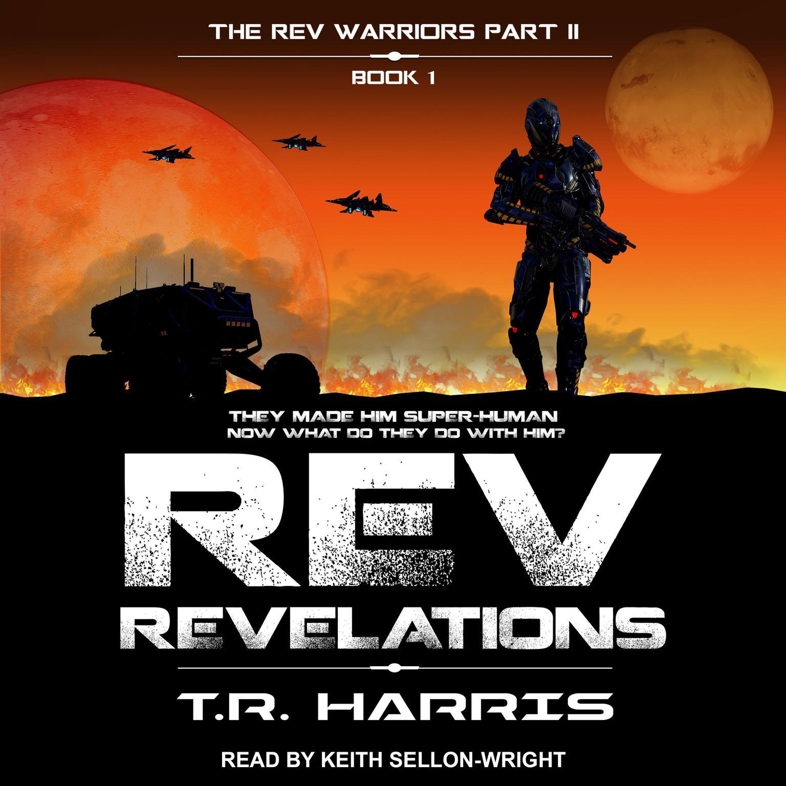 REV: Revelations Audiobook, by T. R. Harris
