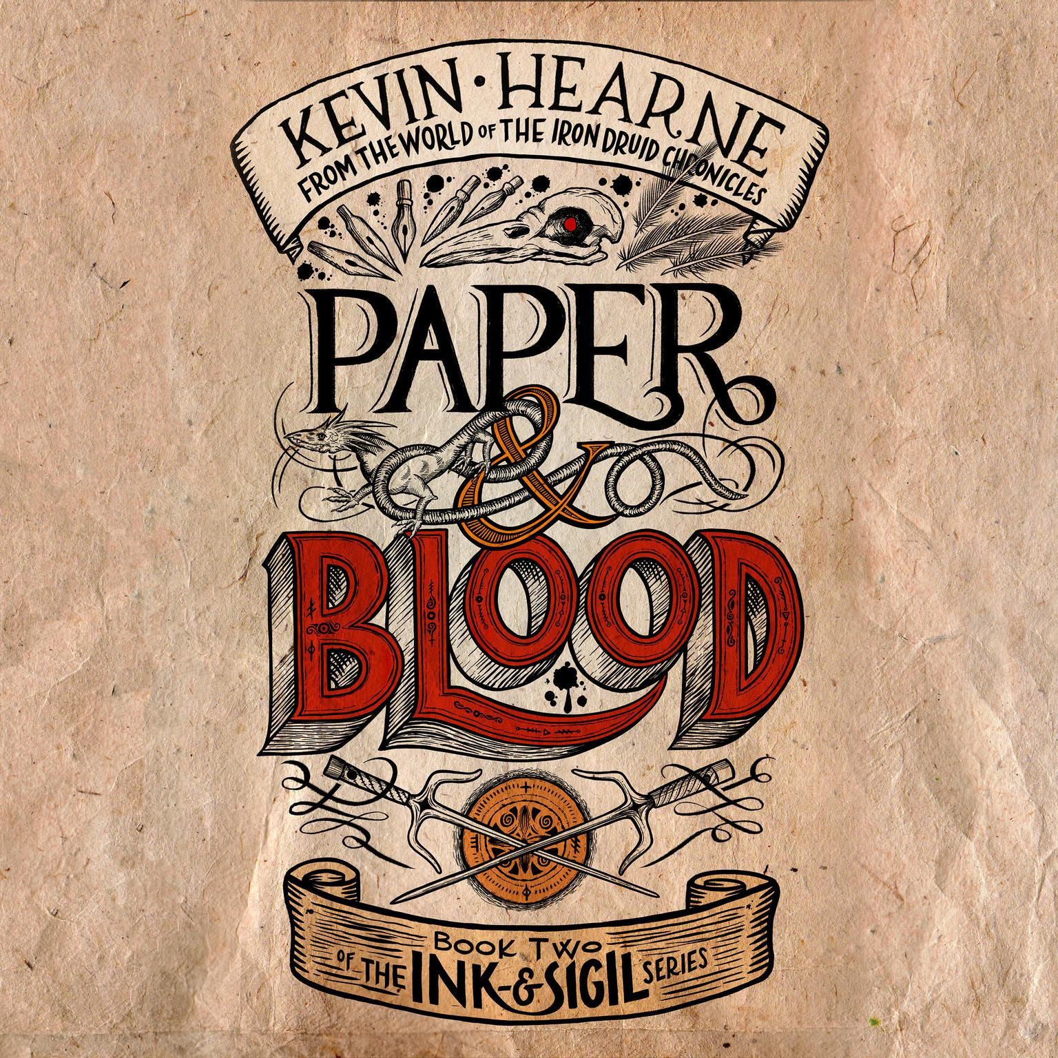 Paper & Blood: Book Two of the Ink & Sigil series Audiobook, by Kevin Hearne
