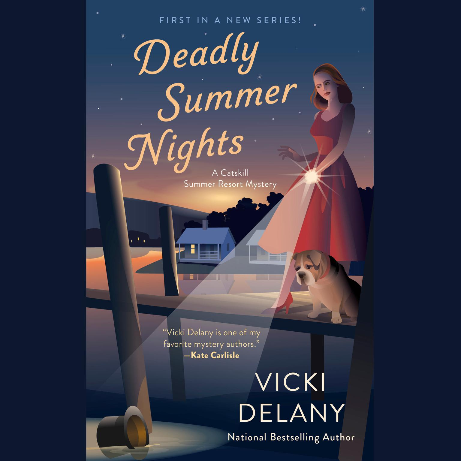 Deadly Summer Nights Audiobook, by Vicki Delany