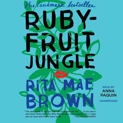 Rubyfruit Jungle Audiobook, by Rita Mae Brown
