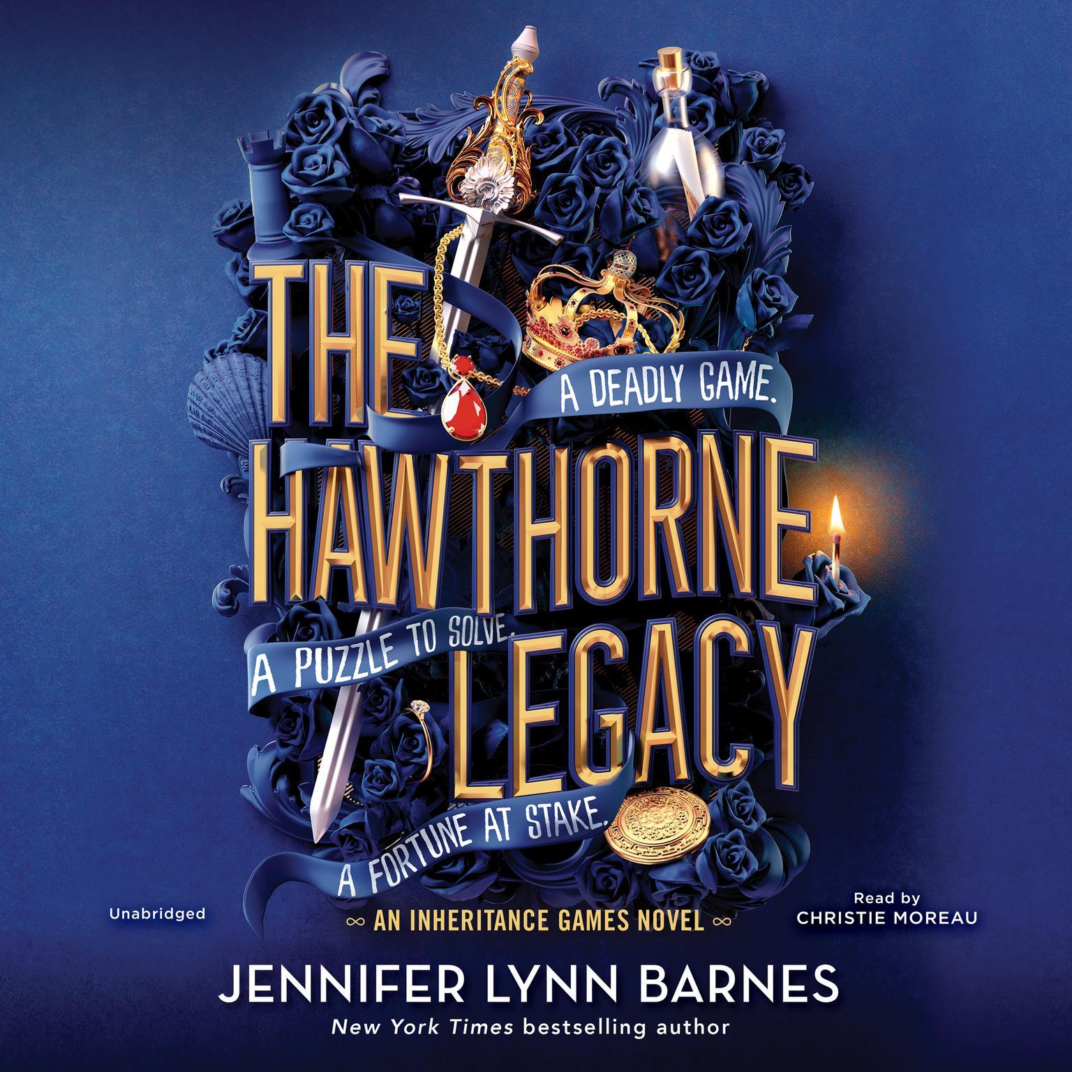 The Hawthorne Legacy Audiobook, by Jennifer Lynn Barnes