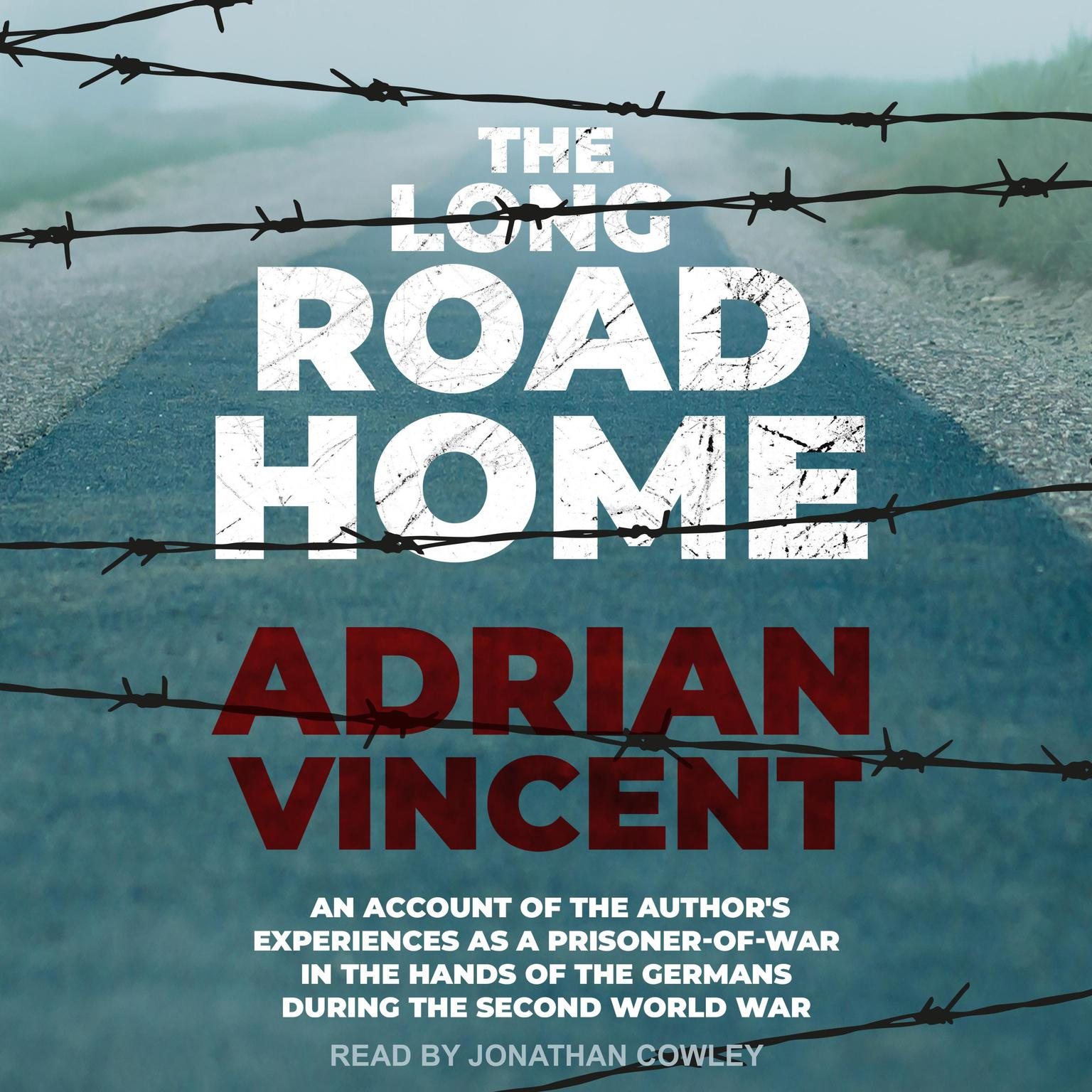 The Long Road Home: An Account of the Author's Experiences Audiobook, by Adrian Vincent