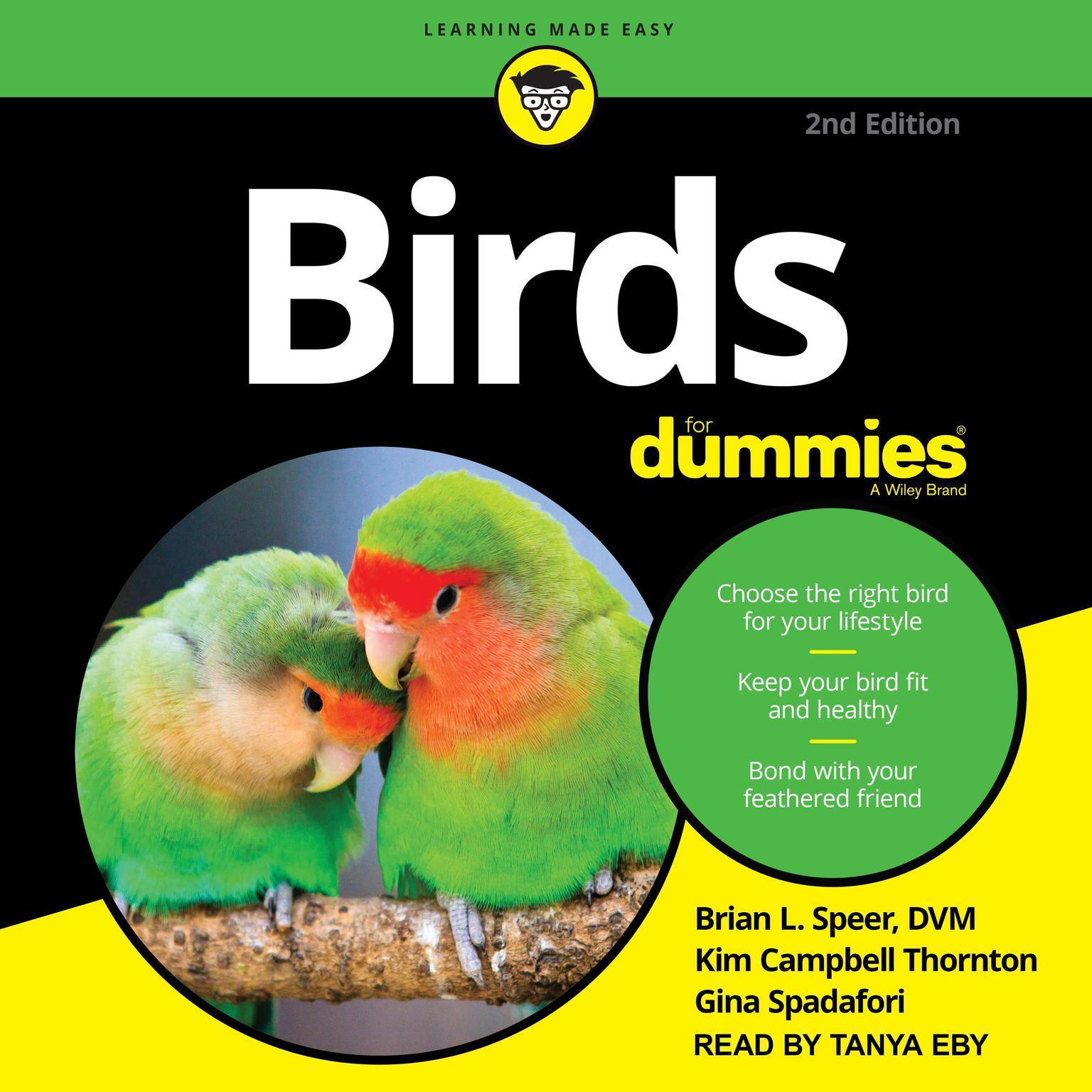 Birds for Dummies: 2nd edition Audiobook, by Gina Spadafori