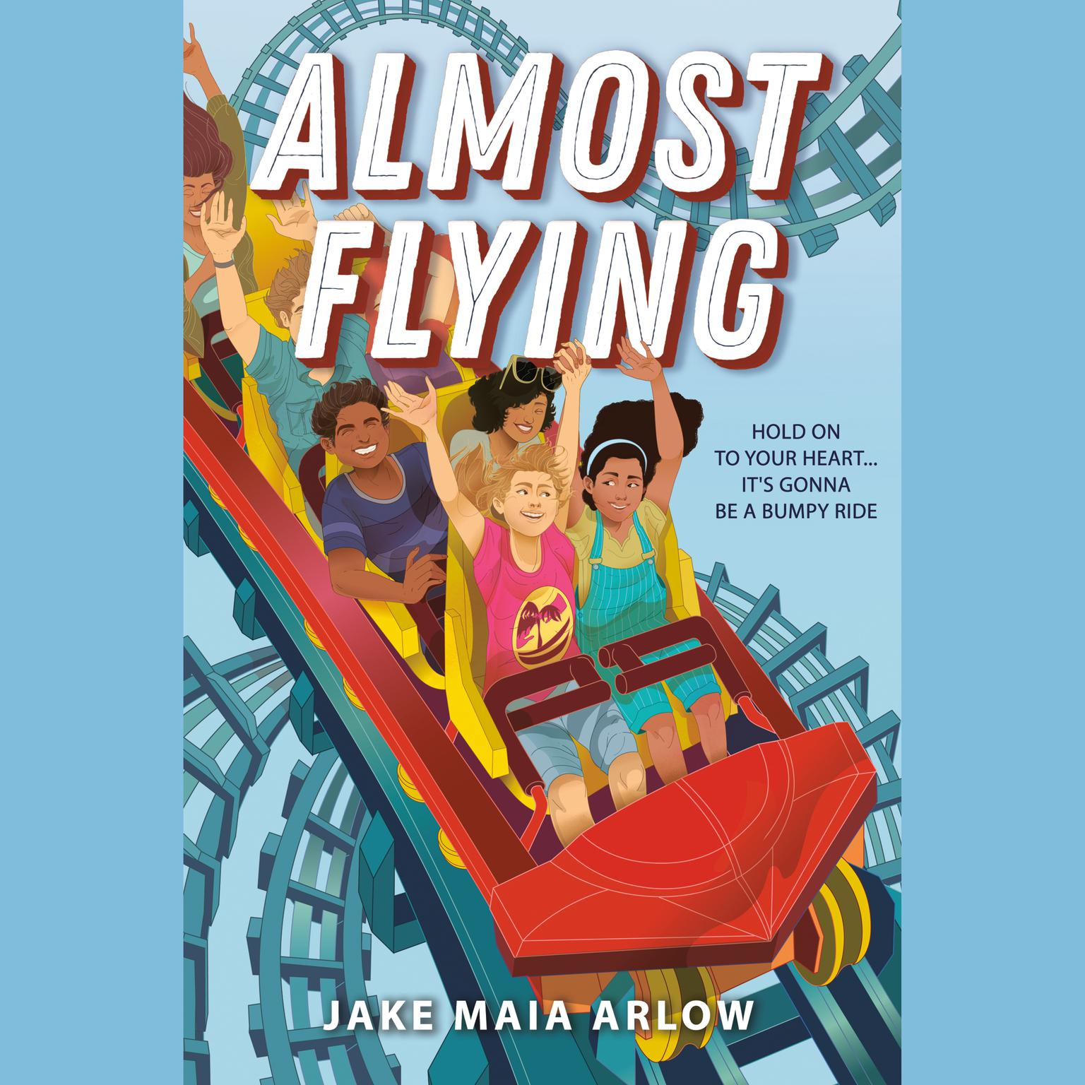 Almost Flying Audiobook, by Jake Maia Arlow