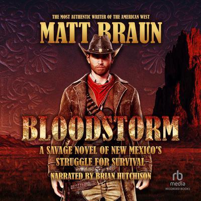 Bloodstorm Audiobook, by Matt Braun