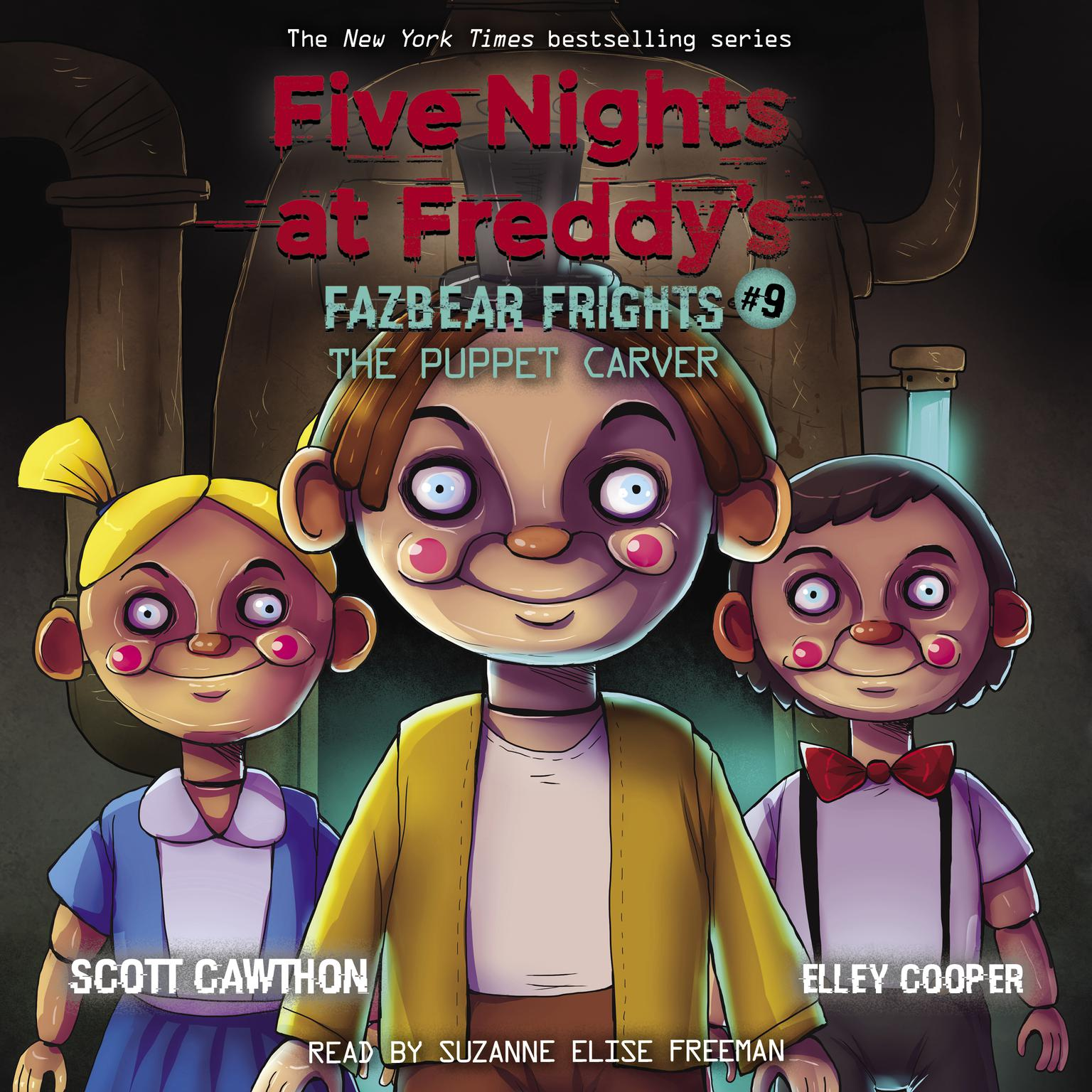 The Puppet Carver Audiobook, by Scott Cawthon