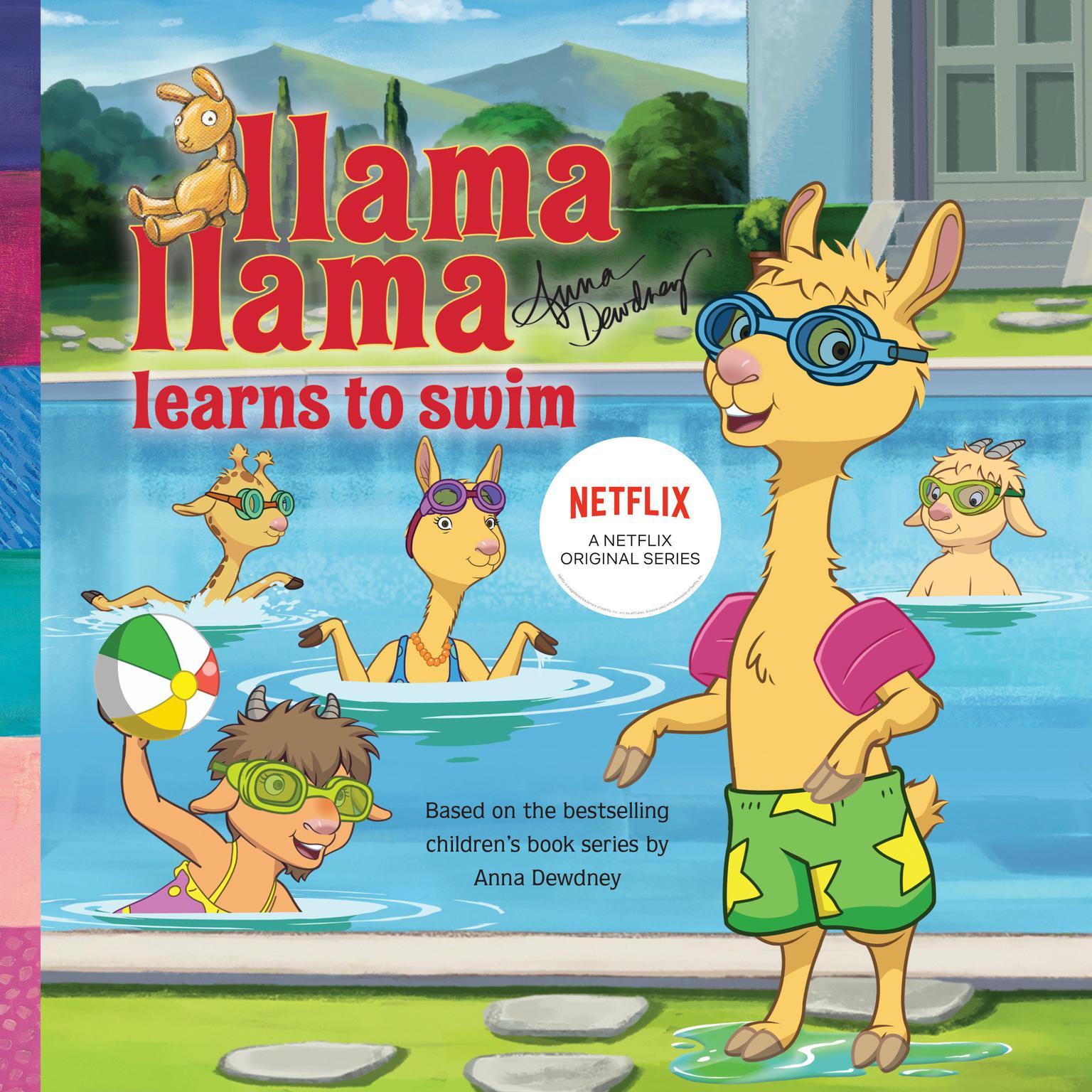 Llama Llama Learns to Swim Audiobook, by Anna Dewdney