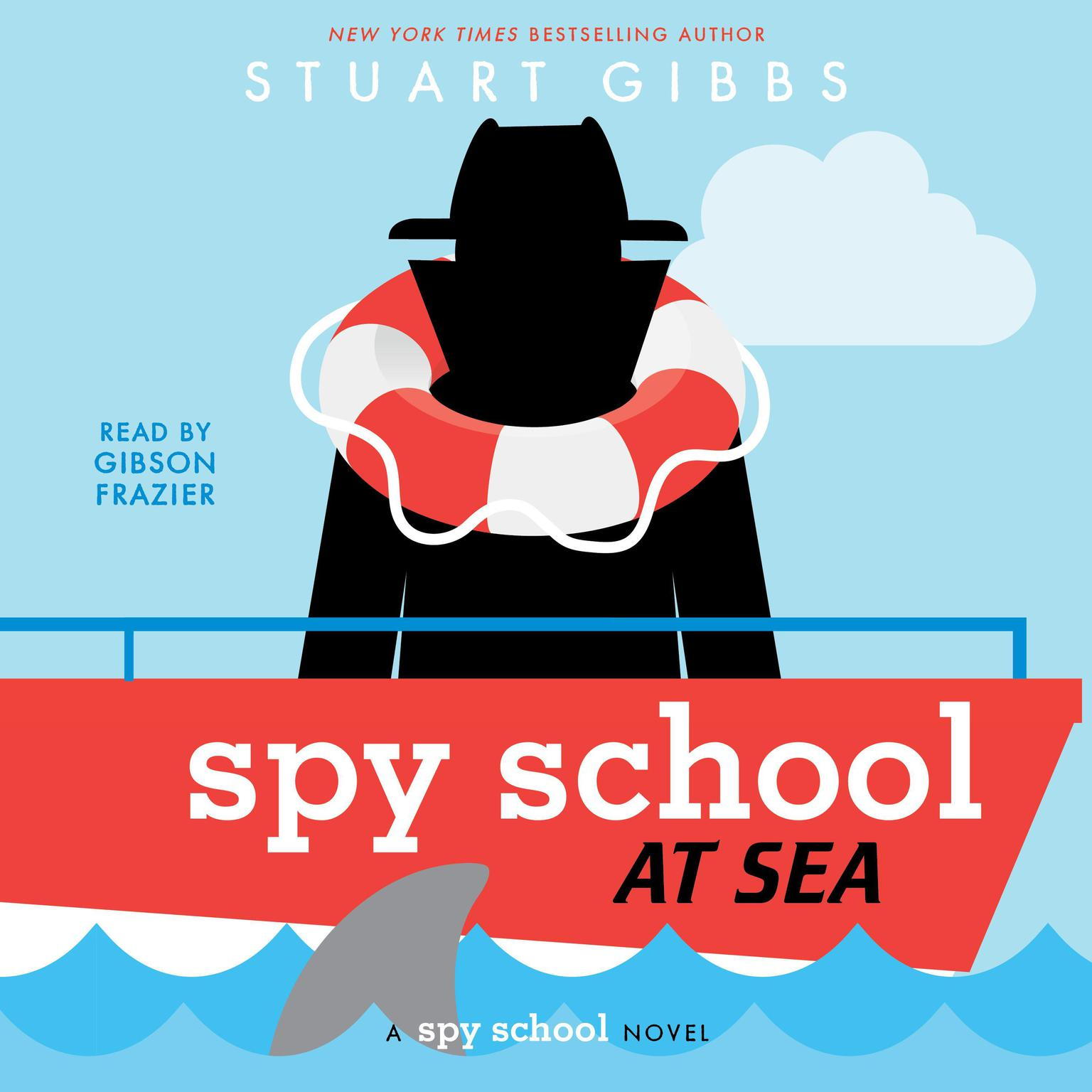 Spy School at Sea Audiobook, by Stuart Gibbs