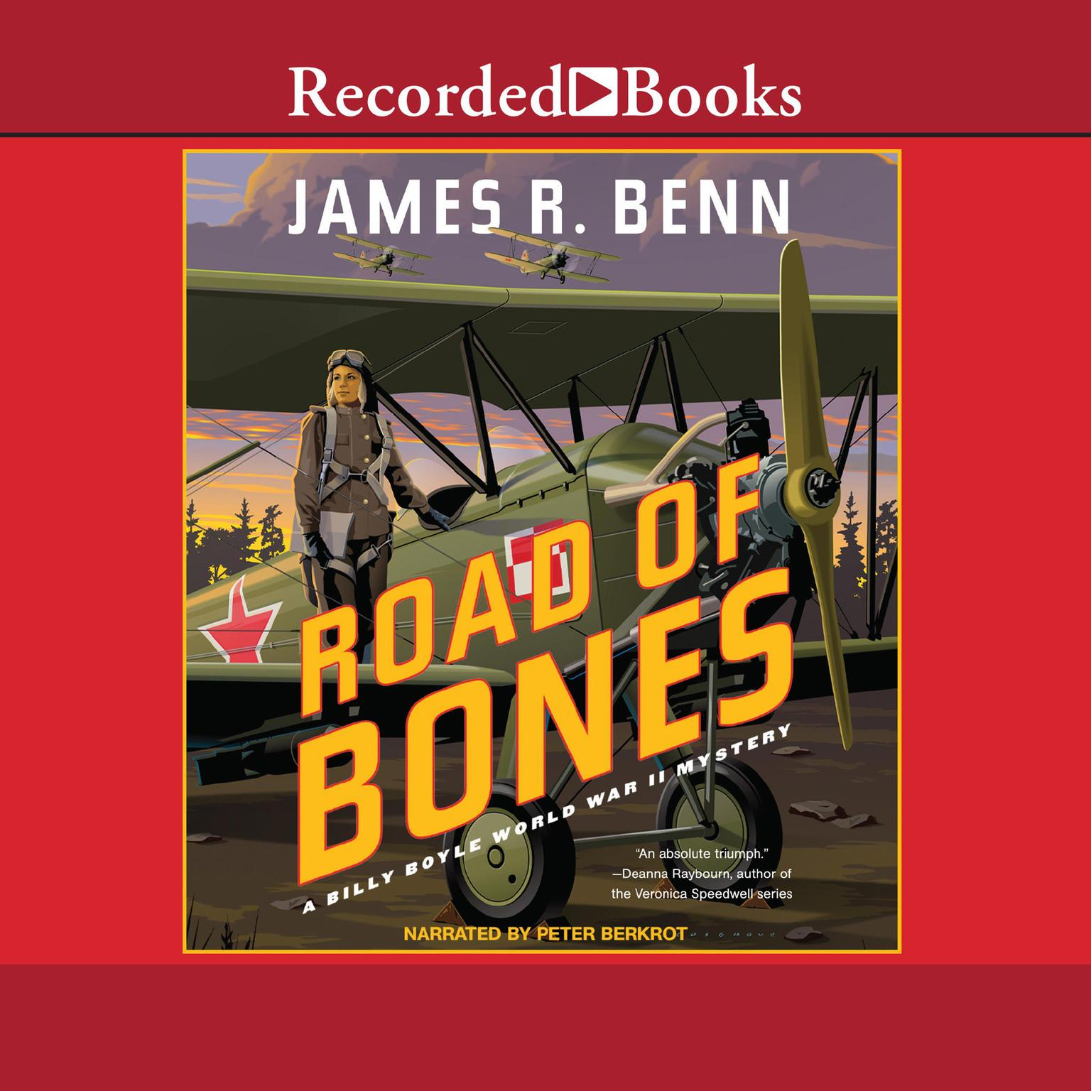 Road of Bones Audiobook, by James R. Benn