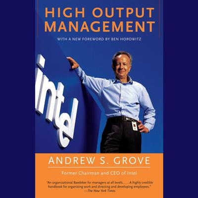 High Output Management Audiobook, by