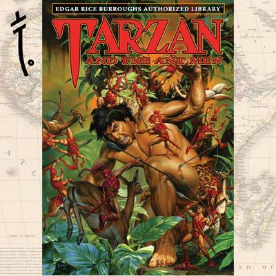Tarzan and the Ant Men Audiobook, by Edgar Rice Burroughs