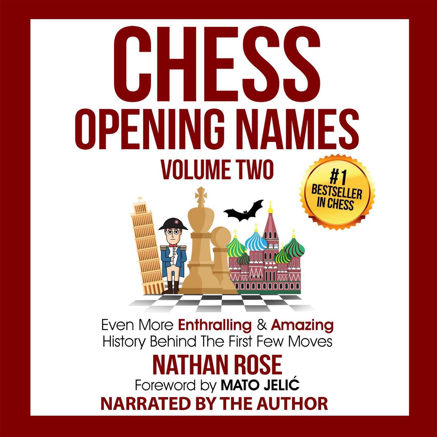 Chess Opening Names - Volume 2: Even More Enthralling & Amazing History Behind The First Few Moves  Audiobook, by Nathan Rose