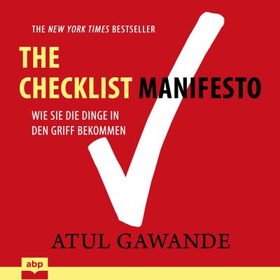 Checklist Manifesto Audiobook, by