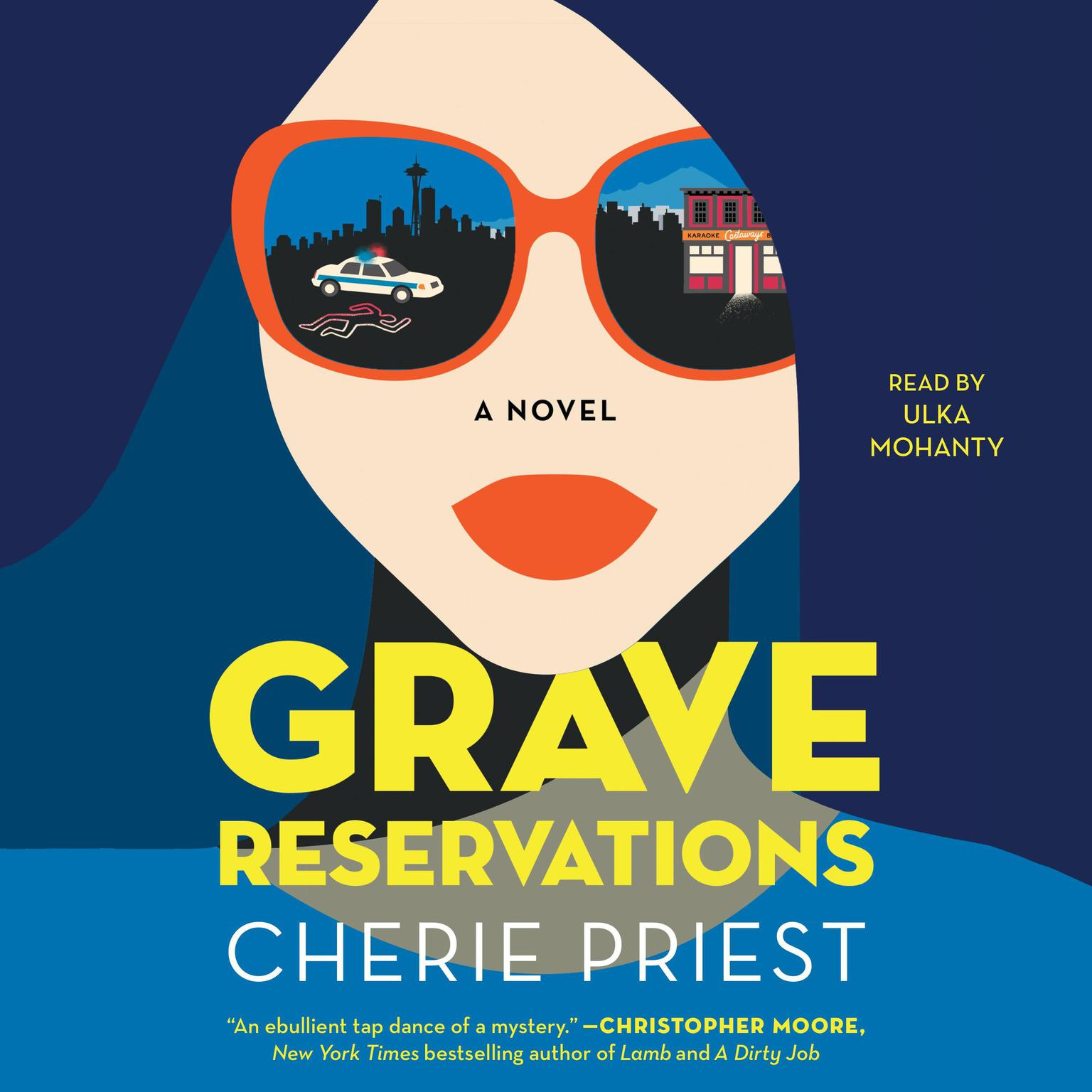 Grave Reservations: A Novel Audiobook, by Cherie Priest