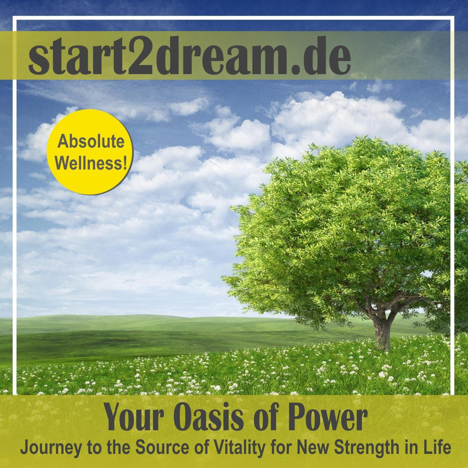 """Guided Meditation """"Oasis of Power"""" Audiobook, by Nils Klippstein"""