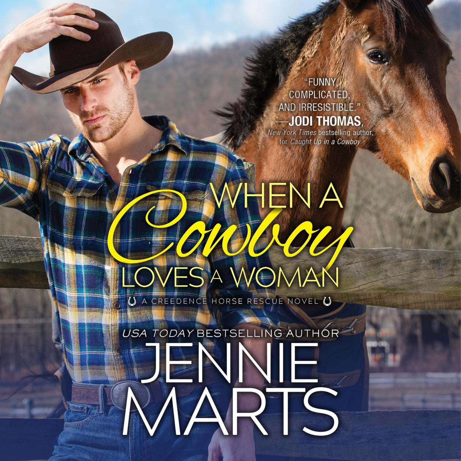 When a Cowboy Loves a Woman Audiobook, by Jennie Marts