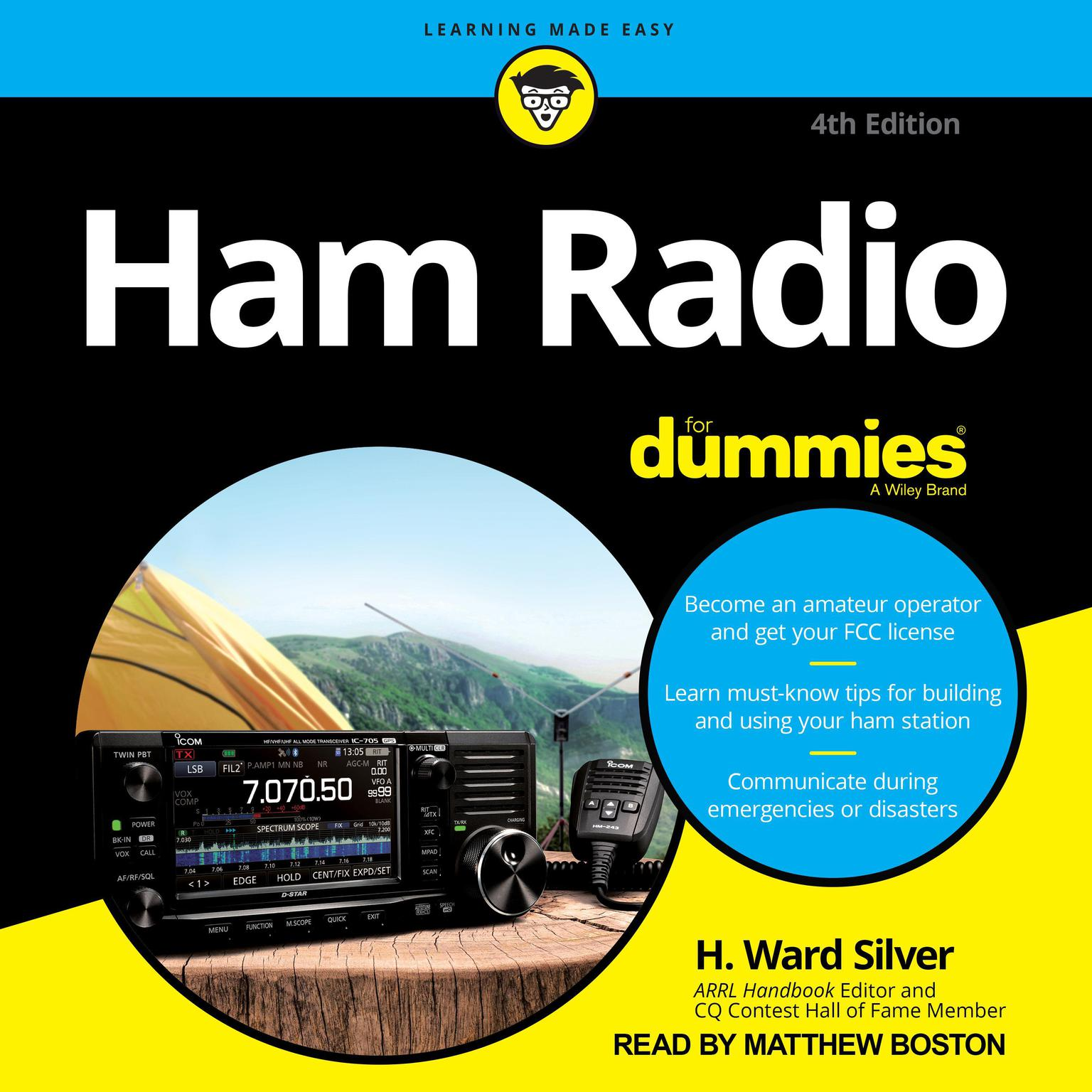 Ham Radio for Dummies: 4th Edition Audiobook, by H. Ward Silver