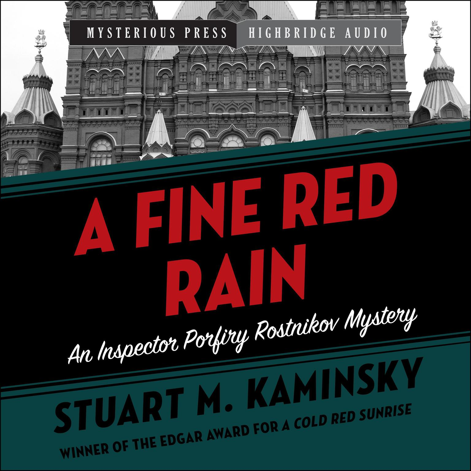 A Fine Red Rain Audiobook, by Stuart M. Kaminsky
