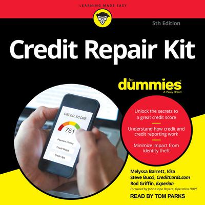 Credit Repair Kit For Dummies: 5th Edition Audiobook, by Steve Bucci