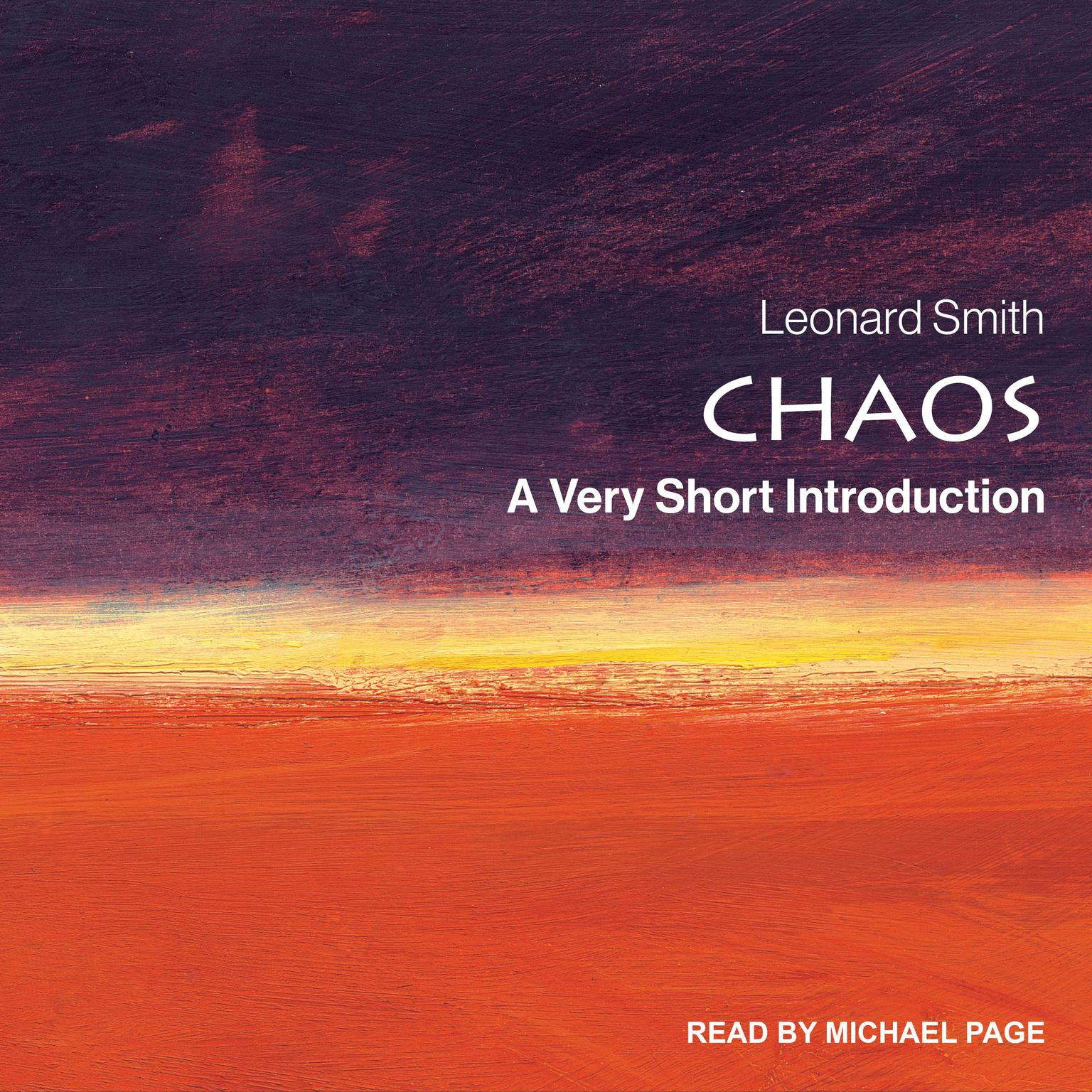 Chaos: A Very Short Introduction Audiobook, by Leonard Smith
