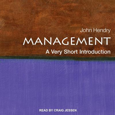 Management: A Very Short Introduction Audiobook, by John Hendry