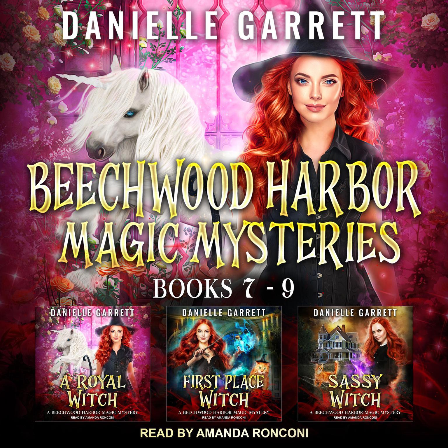 The Beechwood Harbor Magic Mysteries Boxed Set: Books 7-9 Audiobook, by Danielle Garrett