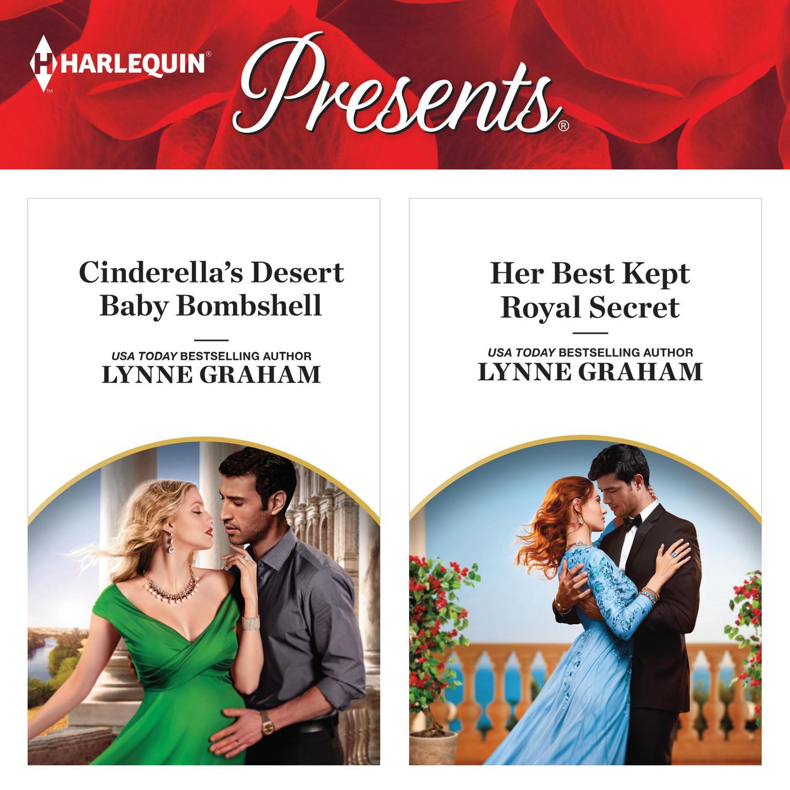 Cinderellas Desert Baby Bombshell & Her Best Kept Royal Secret Audiobook, by Lynne Graham