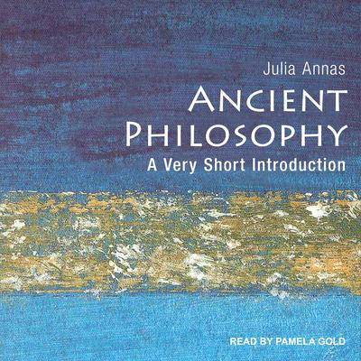 Ancient Philosophy: A Very Short Introduction Audiobook, by