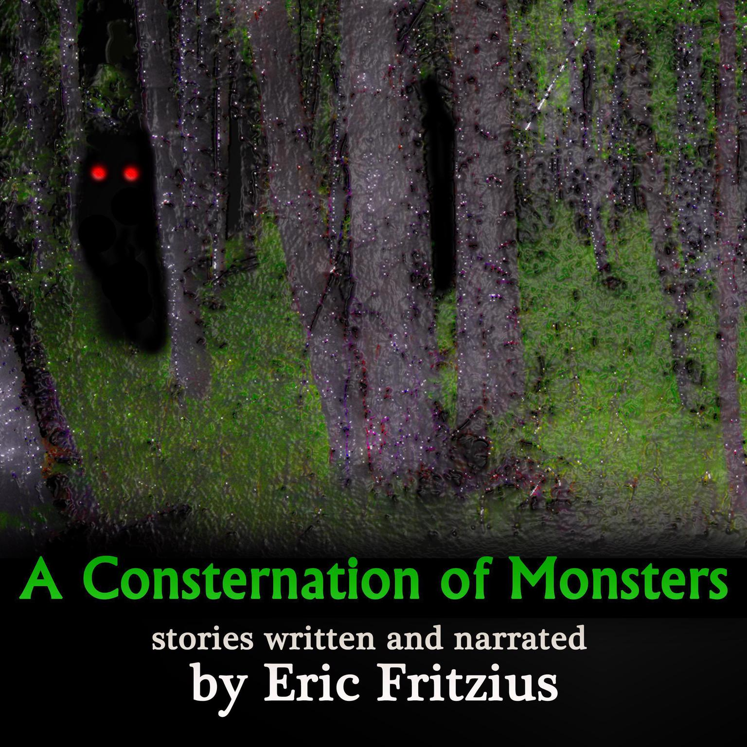 A Consternation of Monsters: stories by Audiobook, by Eric Fritzius