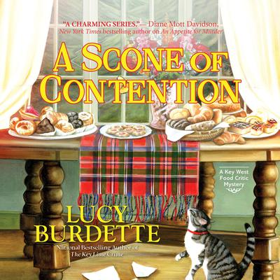 A Scone of Contention Audiobook, by Lucy Burdette
