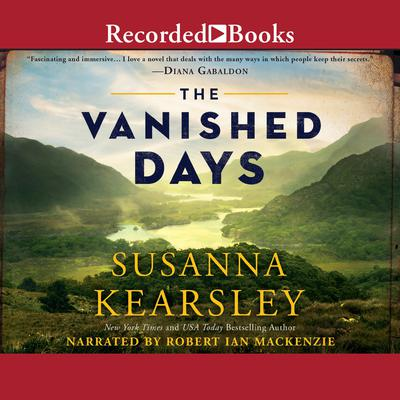 The Vanished Days Audiobook, by Susanna Kearsley