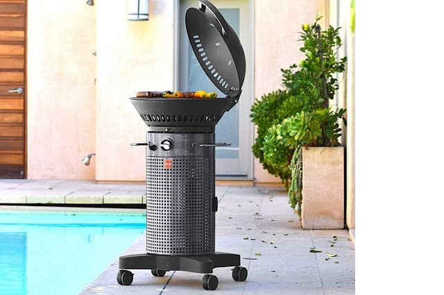 Fuego Element Hinged Propane Gas Grill