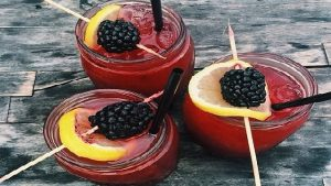 The Blackberry Bourbon Lemonade