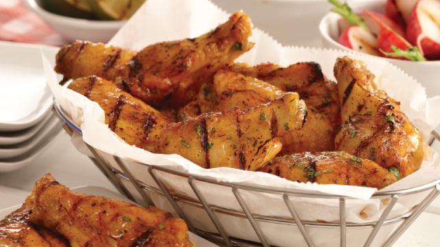 Grilled Sweet Chile Wings