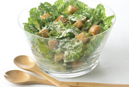 Garlic Caesar Salad