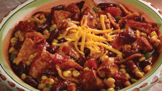 Tortilla Chicken Chili