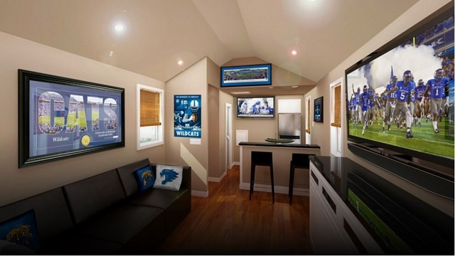 University of Kentucky Opens Luxury Tailgating Suites