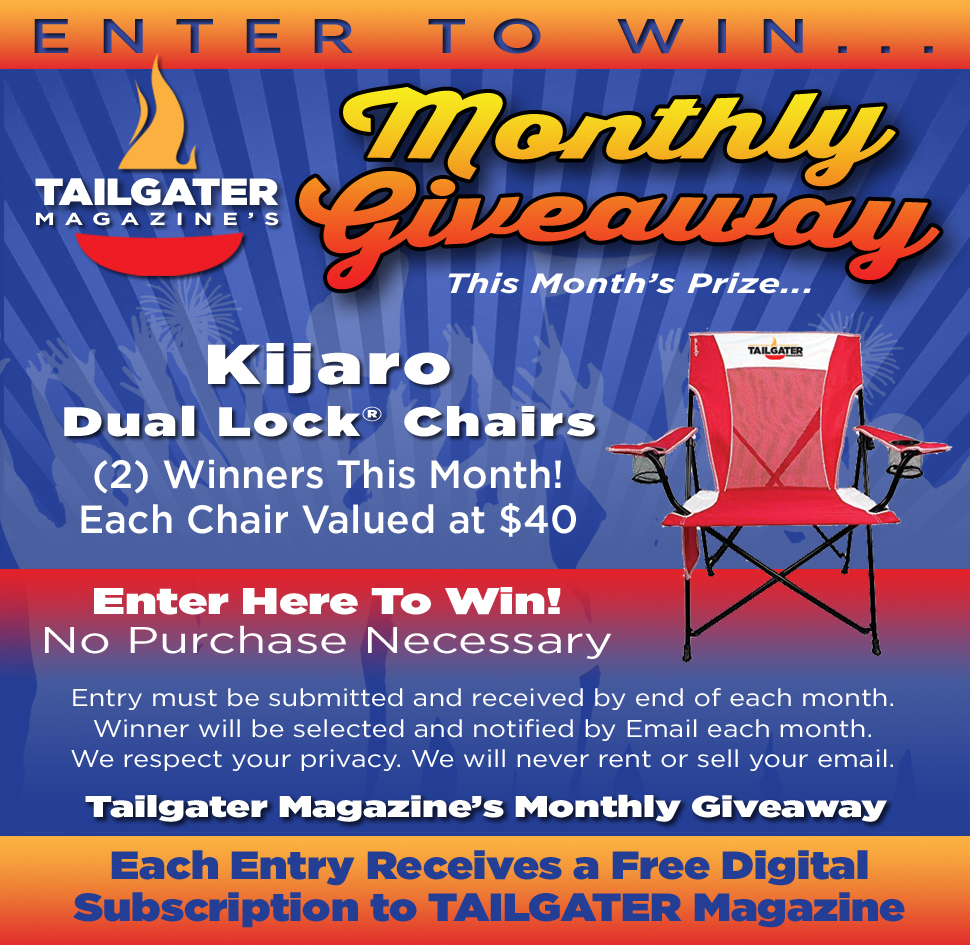 Tailgating Contests - Tailgating Giveaways | Tailgater Magazine