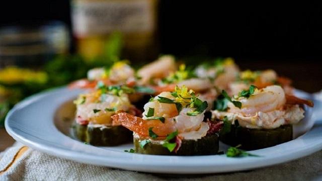 Pickled Shrimp Bites