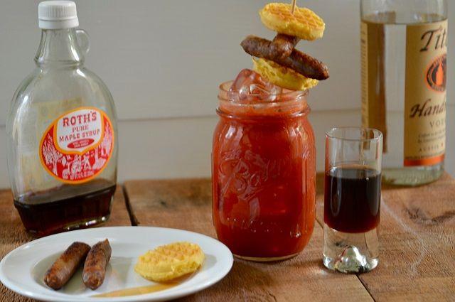 The Rickety Crimson Bloody Mary