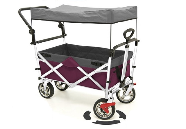 Custom Push & Pull Folding Wagon