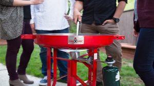 FireDisc® Premium Portable Propane Cooker