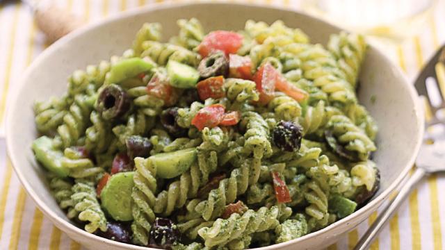 Pepita Pesto Pasta Salad