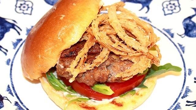 Mrs. Renfro's Chipotle Barbecue Pork Burgers