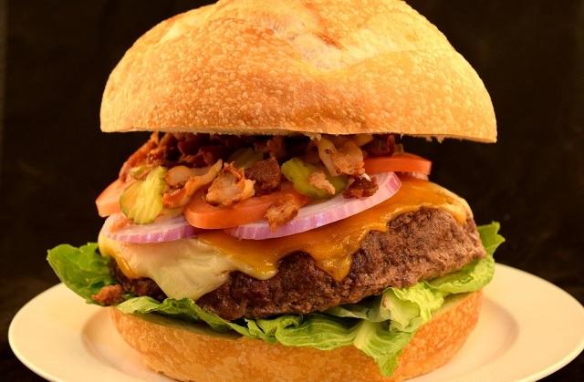 Texas Style Bacon Cheeseburger