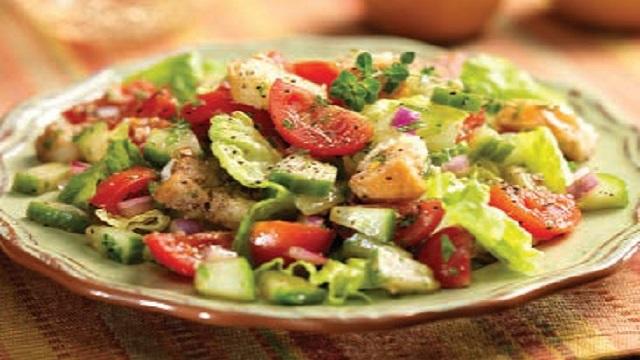 Panzanella Italian Bread Salad