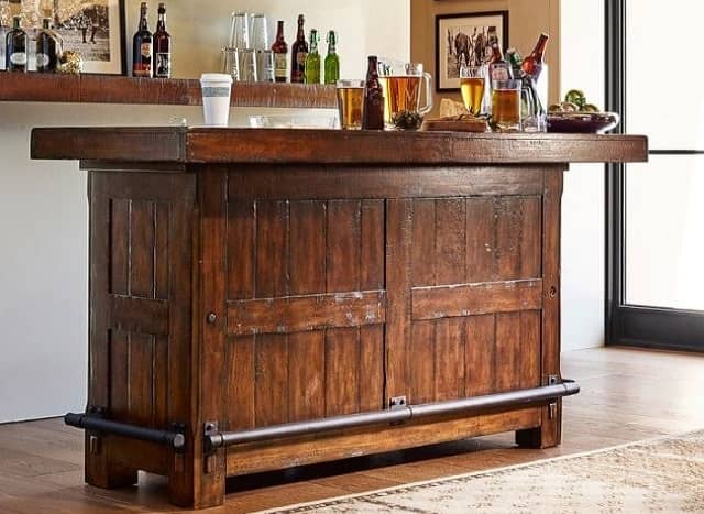 The Elegant Home Bar